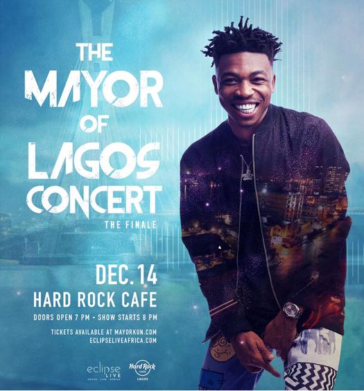 MAYORKUN SET TO CLOSE OUT NIGERIAN TOUR WITH FINALE SHOW AT HARD ROCK CAFÉ, LAGOS