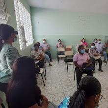 VICENTE NOBLE: Distrito 01-05 realiza taller sobre ordenanza 04-2018 con directores de centros Educativos.