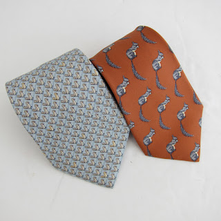Hermès Critter Silk Tie Duo