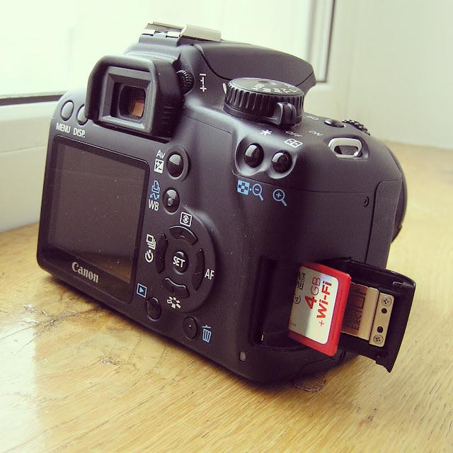 SanDisk Eye-Fi + Canon EOS 1000D