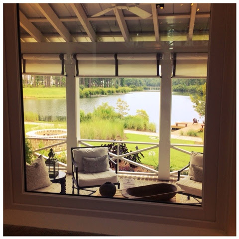 View from the living room.  2014 Southern Living Idea House in Palmetto Bluff, SC | The Lowcountry Lady