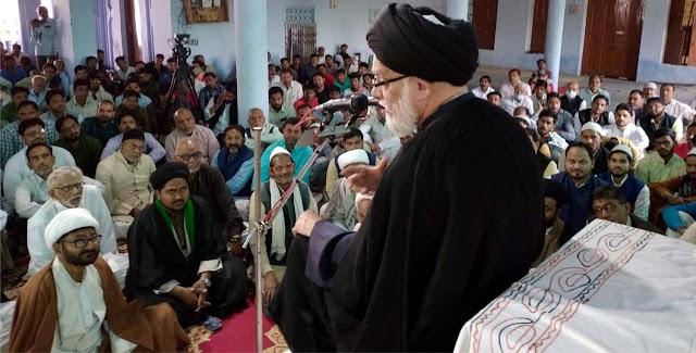 मौलाना महमूदुल हसन की तीसरी बरसी की मजलिस आयोजित