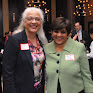 BBA Past President Renee Landers (Suffolk University Law School) and BBA Council member Navjeet Bal (Nixon Peabody LLP)