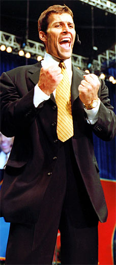 Anthony Robbins In A Suit Confident, Anthony Robbins
