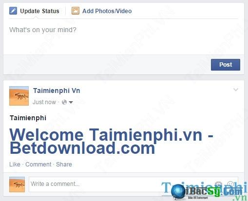 Viết status facebook chữ to