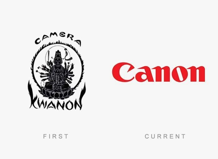 brand logos with theri first and final design (1)