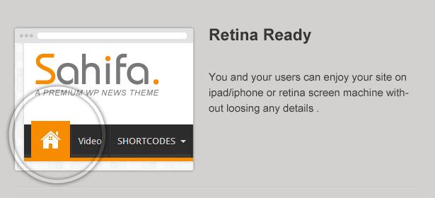 sahifa is retina ready