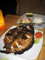 More fresh fish from Zipp Bar - Gili Air