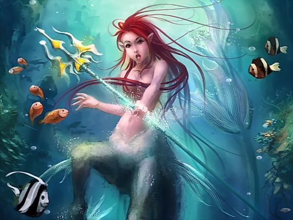 Mermaid Warrior, Magick Warriors 3