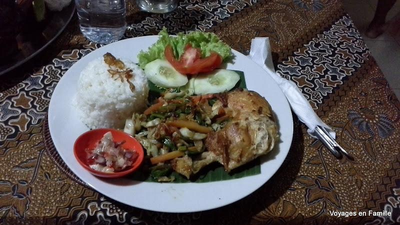 chicken tutu @Warung Bali