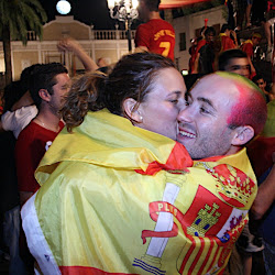 Montijo celebra la copa de la Roja