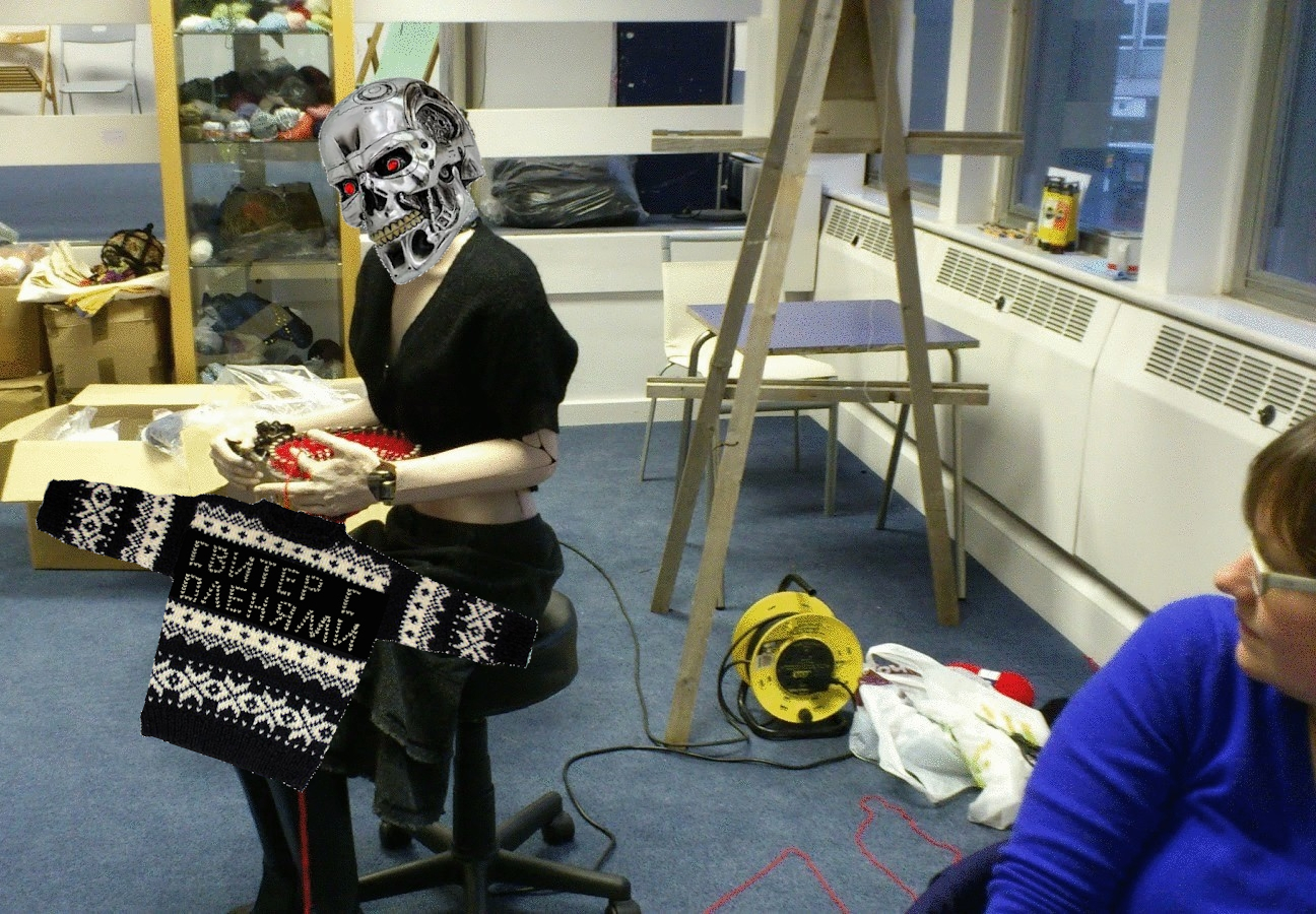 Вязание машин: нейросеть научили вязать свитера по фото