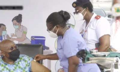 Ghanaian President Takes COVID19 Vaccine On Live Television