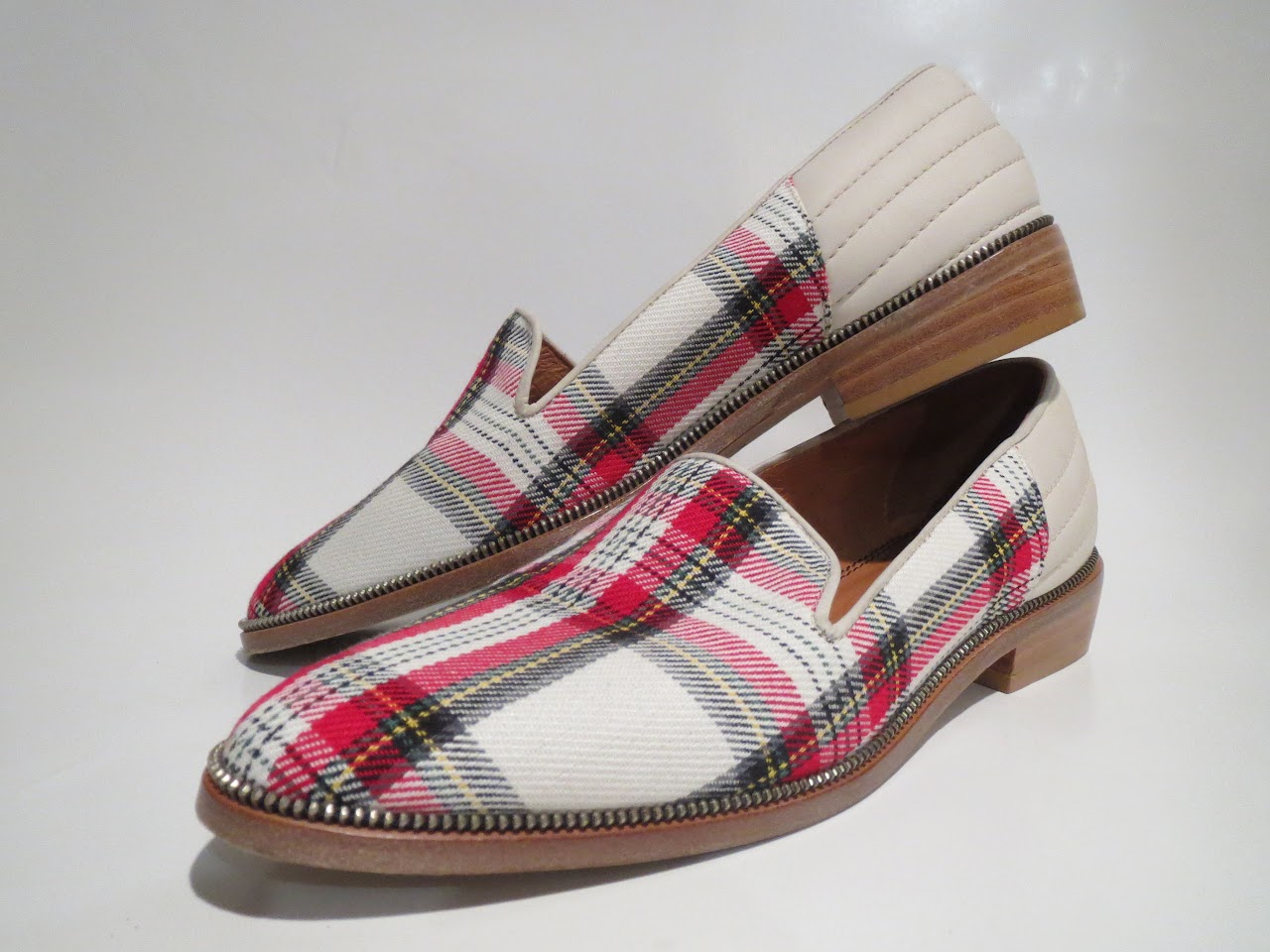 The Kooples Tartan Loafers