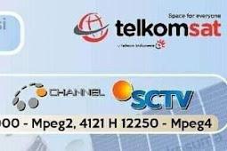 Frekuensi Sctv Indosiar terbaru di Telkom 4