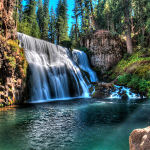 Afternoon Sun on the Middle Falls.jpg