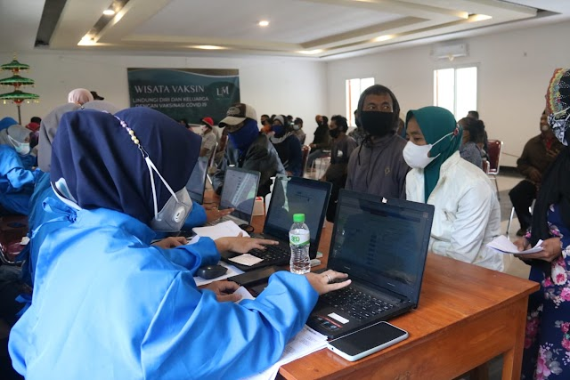 Forkopimda Kabupaten Malang Tinjau Wisata Vaksin di Lembah Indah