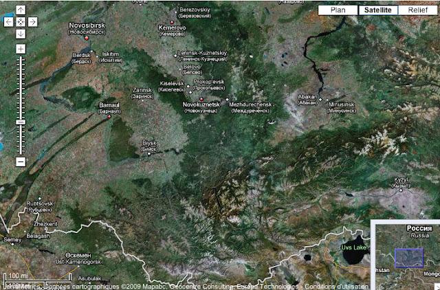 Novosibirsk, Barnaul et l'Altai