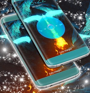 Obrazovka Neon Blue Lock - náhled