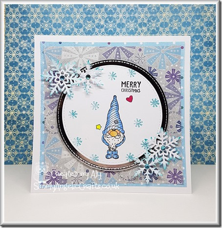 Gnome stamps from Christmas Edition Making Cards and Papercraft with watermark