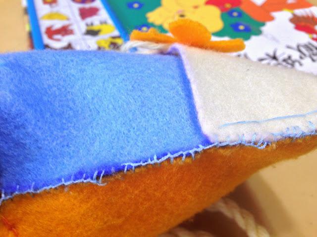 Heru DIY wallet edge overlock