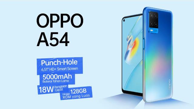 Harga dan Review Oppo A54 Juni 2021