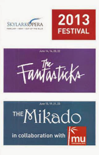 The Fantasticks And The Mikado By Skylark Opera In Collaboration With Mu Performing Arts