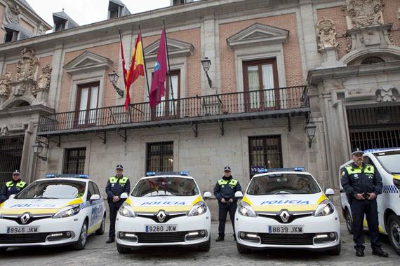 129 nuevos coches para la Policía Municipal