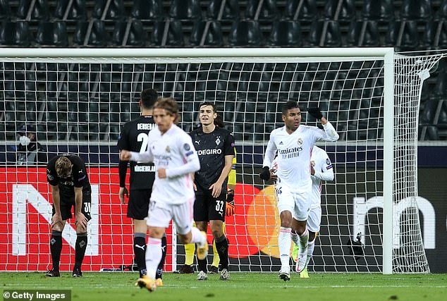Late Drama Has Madrid Come From Behind To Draw 2-2 Against Monchengladbach