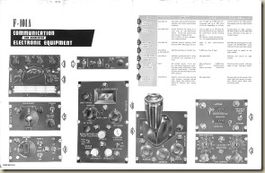 F-101A Communication and Associated Electrical Equipment