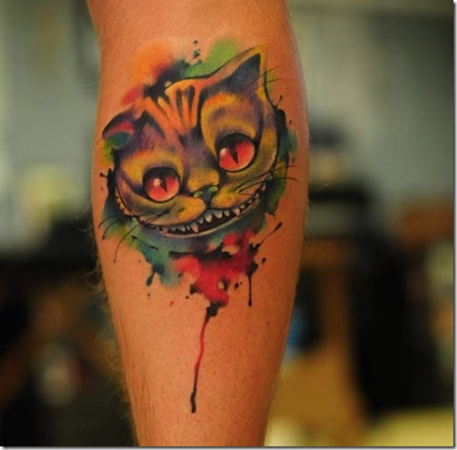 este_increble_acuarela_gato_de_cheshire_tatuaje