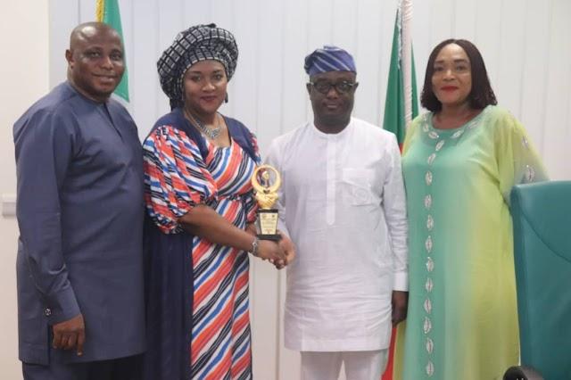 Babajimi Benson Receives Best Representative Of The Year Award