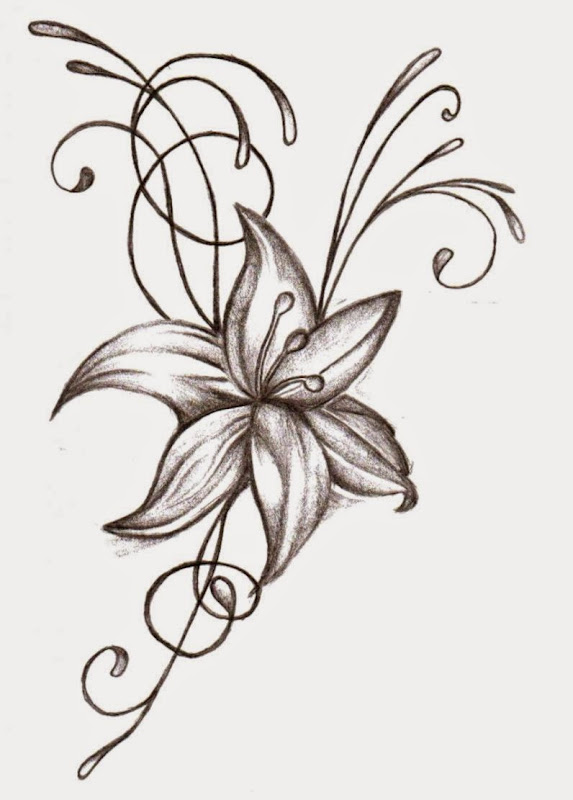 Flower tattoo designs for