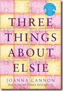 three things about elsie joanna cannon book cover