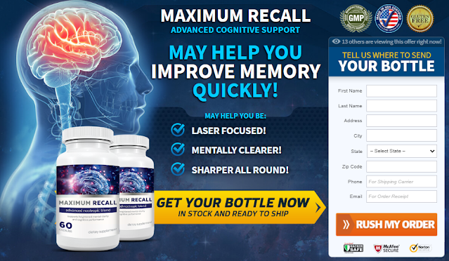 Maximum Recall Review: Benefits, Uses, Work, Results, Price & Updated 2021  | homify