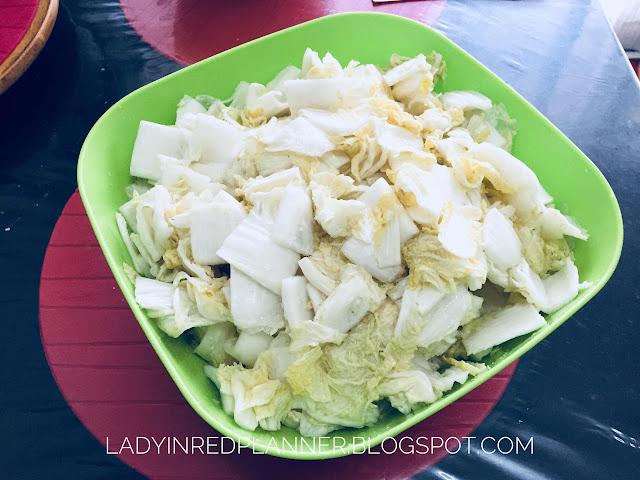 Kimchi mudah