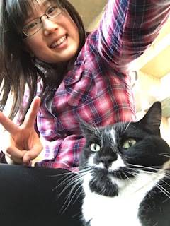 Selfie with kitty~