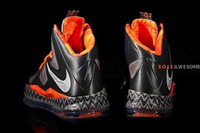 nike lebron 10 gs black history month 1 13 Introducing the Nike LeBron X Black History Month in Kids Sizes