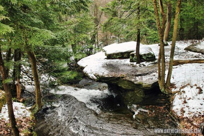 Waterfall   On The Creek