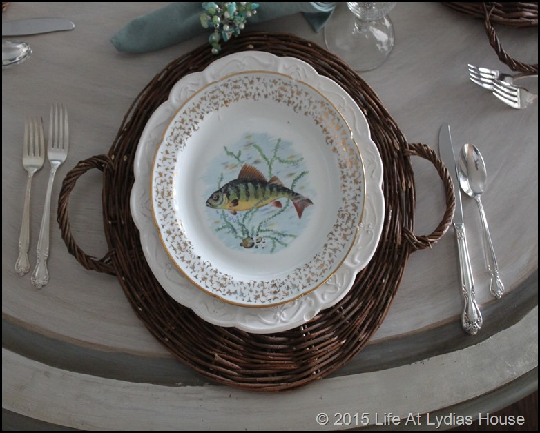 Limoges fish plate 6