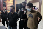 Pesta Sabu, Dua Pria Diamankan Ditsamapta Polda Kalteng
