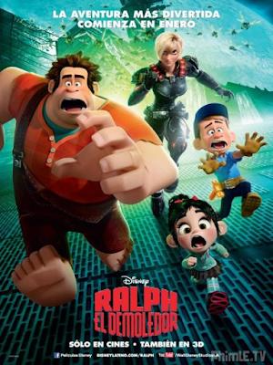 Phim Rap Phờ Đập Phá - Wreck - It - Ralph (2012)