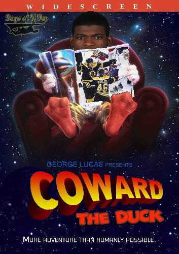 coward the duck