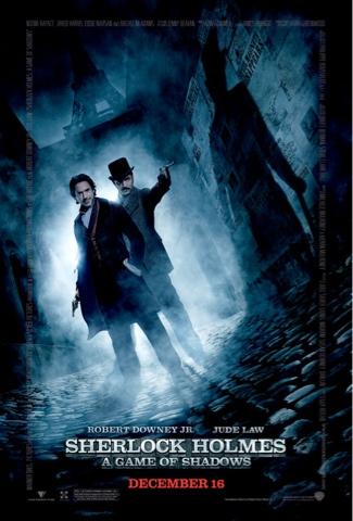Póster de Sherlock Holmes: Juego de Sombras