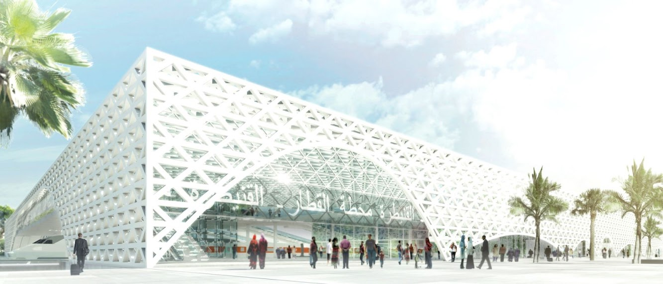 Silvio d'Ascia: SILVIO D'ASCIA WINS NEW HIGH-SPEED RAILWAY STATION COMPETITION
