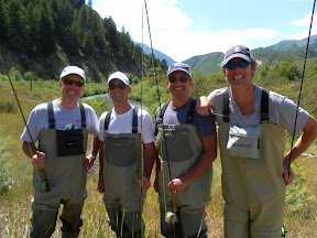 Happy Group Of Flyfishers