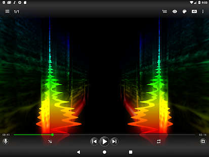Spectrolizer - Music Player & Visualizer Screenshot