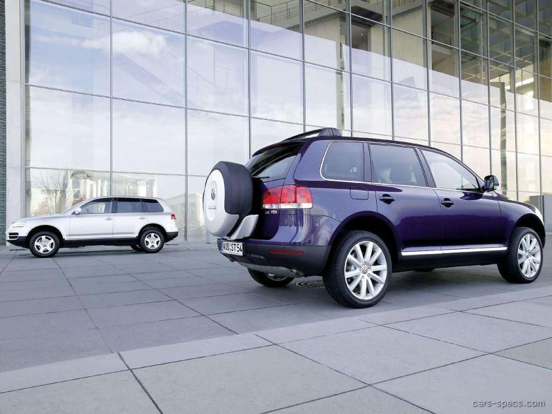 2007 volkswagen touareg suv specifications pictures prices. Black Bedroom Furniture Sets. Home Design Ideas