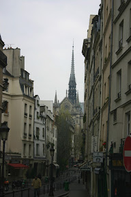 The view from HÙtel de Commerce