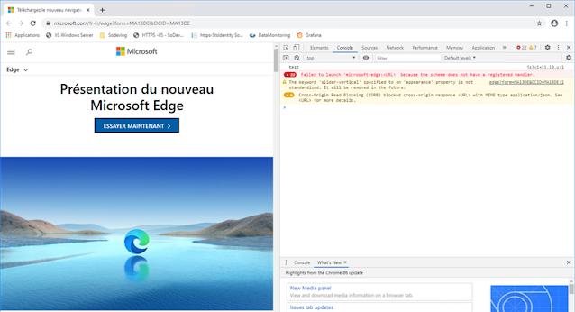 Windows Server - Vous ne pourrez pas installé Edge facilement !